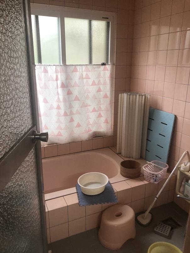 リフォーム前在来浴室